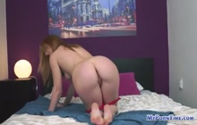Blonde stunner in a hot hardcore porn