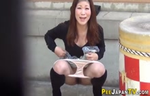 Asians pee in public and outdoors